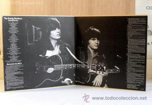Discos de vinilo: everly brothers, end of an era !! DOBLE LP, 18 TEMAS !!!! ORIG EDT UK !! TODO EXC !!!!!!!!!!!!!! - Foto 8 - 37156941