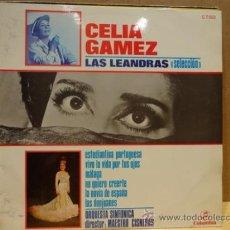 Discos de vinilo: CELIA GÁMEZ. LAS LEANDRAS. LP COLUMBIA 1969. BUENA CALIDAD. ***/***. Lote 37165072
