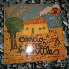 Discos de vinilo: LP(DOBLE)-CANCIONES INFANTILES-1877/1977-ZAFIRO-24 CANCIONES-NUEVO.. Lote 37518500