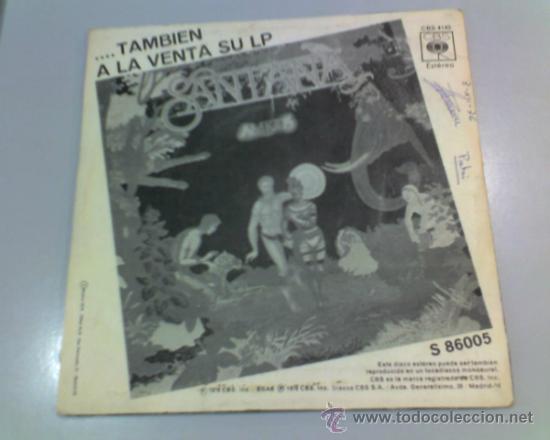 Discos de vinilo: SINGLE - SANTANA - EUROPA - LLEVAME CONTIGO - 1976 - CBS - Foto 2 - 37176425