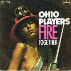 Discos de vinilo: OHIO PLAYERS - FIRE - TOGETHER - 1975. Lote 37174243