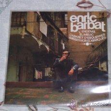 Discos de vinilo: ENRIC BARBAT 7´EP L´ENDEMA + 3 TEMAS (1967) CANTA CATALAN *SU EP MÁS DIFICIL*. Lote 37175160