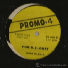 Discos de vinilo: MAXI PROMO 4 : FOR D.J.OLNLY ( MADE IN USA) RADIO COPY . Lote 37175257