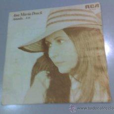 Discos de vinilo: ANA MARÍA DRACK - AMADA - A TÍ - 1977 - RCA. Lote 37231716