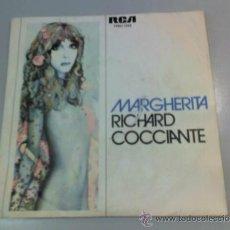 Discos de vinilo: RICHARD COCCIANTE - MARGHERITA - PRIMAVERA - 1977 - RCA. Lote 37270127
