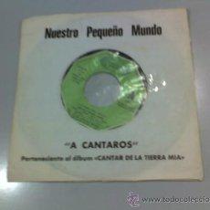 Discos de vinilo: NUESTRO PEQUEÑO MUNDO - A CANTAROS - ANDANDO - 1975 - MOVIE PLAY. Lote 37288570