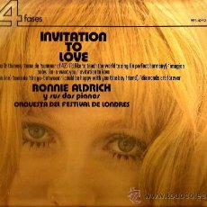 Discos de vinilo: 3 LP´S RONNIE ALDRICH Y SUS DOS PIANOS : INVITATION TO LOVE + REFLEJOS + WHERE THE SUN IS . Lote 37179465