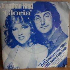 Discos de vinilo: JONATHAN KING. GLORIA. RARO DOBLE SINGLE EN ESTADO IMPECABLE. LEER Y VER FOTOS. ****/****. Lote 44209803