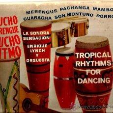 Discos de vinilo: LP ENRIQUE LYNCH Y ORQUESTA - MUCHO MERENGUE MUCHO RITMO ( MAMBO GUARACHA MERENGUE, PACHANGA ). Lote 37182754