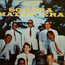 Discos de vinilo: LP GRANDES EXITOS DE SONORA MATANCERA. Lote 37185828