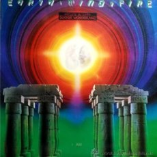 Discos de vinilo: EARTH WIND AND FIRE - I AM - CON ENCARTE Y CARPETA DOBLE. Lote 37197343