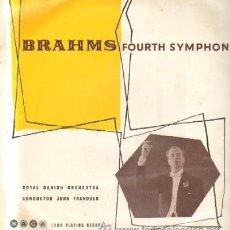 Discos de vinilo: BRAHMS. FOURTH SYMPHONY D-CLASICA-1429. Lote 37202920