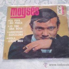 Discos de vinilo: MOYSES 7´EP LA PEPA NO PENCA + 3 (1965) CANTADO EN CATALAN. Lote 37206300