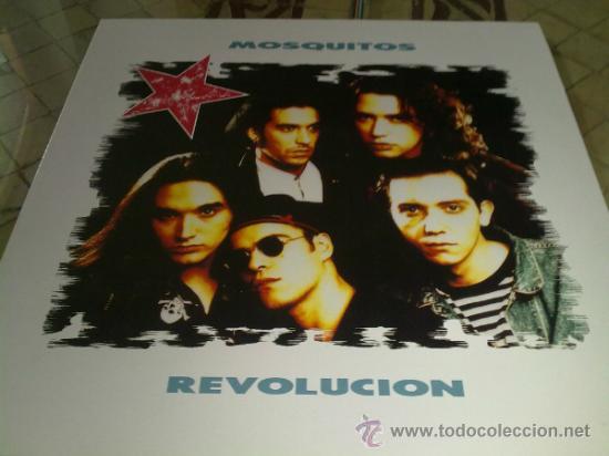 VINILO LP MUSICA - MOSQUITOS REVOLUCION (Música - Discos - LP Vinilo - Otros estilos)