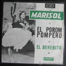 Discos de vinilo: MARISOL SINGLE . Lote 37211702
