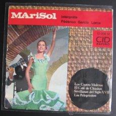 Discos de vinilo: MARISOL SINGLE DE FRANCIA. Lote 37211784