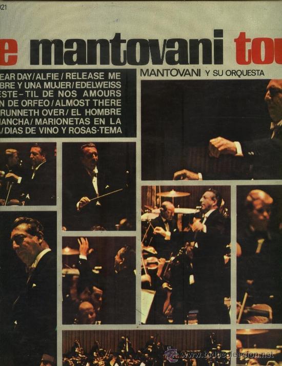 MANTOVANI Y SU ORQUESTA - THE MANTOVANI TOUCH (Música - Discos - LP Vinilo - Orquestas)