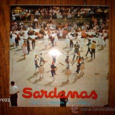 """Discos de vinilo: COBLA """"LA PRINCIPAL DE BISBAL"""" - SARDANAS - LA SARDANA DE LES MONGES + 3. Lote 37218627"""