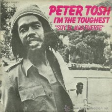 Discos de vinilo: PETER TOSH SINGLE SELLO EMI-ODEON AÑO 1979 EDITADO EN ESPAÑA. Lote 37219516