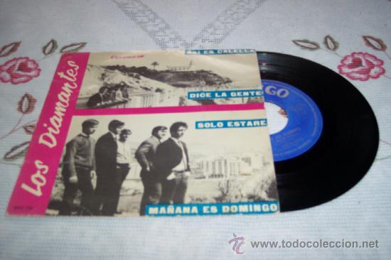 LOS DIAMANTES 7´EP ASI ES CALELLA + 3 (1966) *RAREZA* SPANISH GARAGE BEAT 60¨S (Música - Discos de Vinilo - EPs - Grupos Españoles 50 y 60)