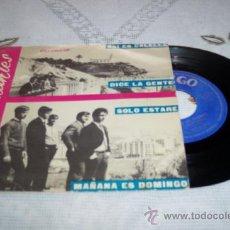 Discos de vinilo: LOS DIAMANTES 7´EP ASI ES CALELLA + 3 (1966) *RAREZA* SPANISH GARAGE BEAT 60¨S. Lote 37219617