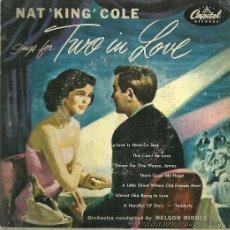 Discos de vinilo: NAT KING COLE EP DOBLE (2 DISCOS) SELLO CAPITOL EDITADO EN USA.. Lote 37219671