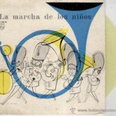 Discos de vinilo: MITCH MILLER - LA MARCHA DE LOS NIÑOS ( EL ALBERGUE DE LA SEXTA FELICIDAD - EP SPAIN 1959 VG+ VG++ . Lote 37222742