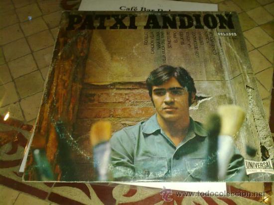 VINILO LP MUSICA - PATXI ANDION - FIRMADO DETRAS POR EL ARTISTA (Música - Discos - LP Vinilo - Otros estilos)