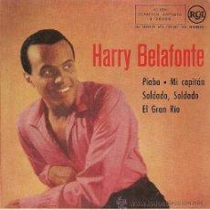 Discos de vinilo: HARRY BELAFONTE EP SELLO RCA AÑO 1958 EDITADO EN ESPAÑA. . Lote 37227174