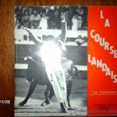 Discos de vinilo: SOCIETE MUSICALE DE PARENTIS EN BORN - LA COURSE LANDAISE / LA CAZERIENNE + 3. Lote 37235016