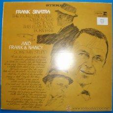 Discos de vinilo: FRANK SINATRA - THE WORLD WE KNEW. Lote 37227411