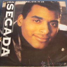 Discos de vinil: JON SECADA DO YOU BELIEVE IN US PROMO. Lote 37234508
