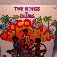 Discos de vinilo: VINILO CHOCOLAT'S,THE KINGS OF CLUBS,SALSA 77 -PL 33RPM AÑO1977. Lote 37238191