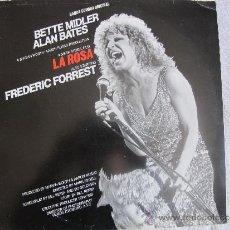 Discos de vinilo: LP - LA ROSA - BETTE MIDLER (SPAIN, ATLANTIC RECORDS 1983). Lote 37238611
