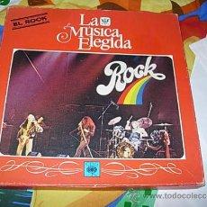 Discos de vinilo: LA MUSICA ELEGIDA - ROCK CAJA CON 4 LP'S + LIBRETO. Lote 37239346