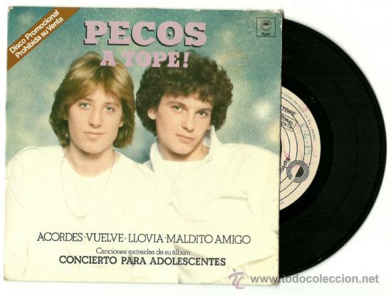 PECOS. A TOPE (VINILO SINGLE PROMO 1979) (Música - Discos - Singles Vinilo - Grupos Españoles de los 70 y 80)