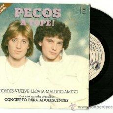Discos de vinilo: PECOS. A TOPE (VINILO SINGLE PROMO 1979). Lote 37239976