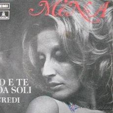 Discos de vinilo: MINA - IO E TE DA SOLI (SG) 1971. Lote 61023593