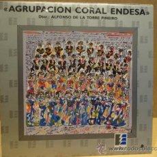 Discos de vinilo: AGRUPACIÓN CORAL ENDESA. LP FONOMUSIC 1988. CALIDAD LUJO ****/****. Lote 37241870