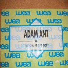 Discos de vinilo: EP ADAM ANT – ROOM AT THE TOP – MCA 1989 – PROMO – SPANISH EDIT. Lote 37242835