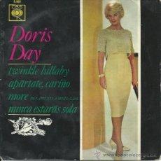 Discos de vinilo: DORIS DAY-EP TWINKLE LULLABY+3-ESPAÑOL-1964. Lote 37243202