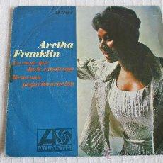Discos de vinilo: ARETHA FRANKLIN - LA CASA QUE JACK CONSTRUYO. Lote 37415964