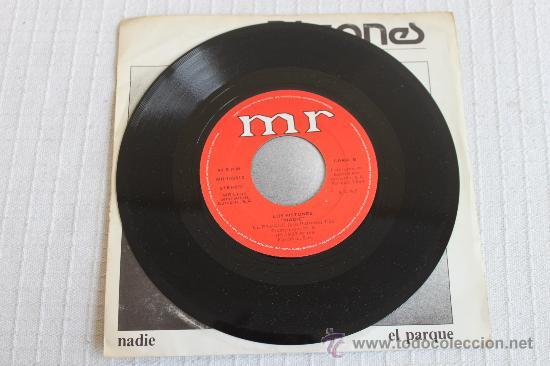 Discos de vinilo: PISTONES - NADIE / EL PARQUE - Foto 3 - 37415232