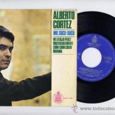 Discos de vinilo: ALBERTO CORTEZ. EP 45 RPM.ME LO DIJO PEREZ+3.HISPAVOX 1965. Lote 37253238