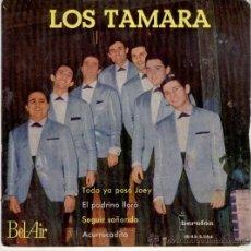 Discos de vinilo: LOS TAMARA - TODO YA PASO JOEY - SEGUIR SOÑANDO + 2 - EP SPAIN 1963 VG++ / VG+. Lote 37253353