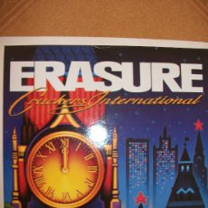 Discos de vinilo: EP ERASURE – CRACKERS INTERNATIONAL – MUTE RECORDS 1988. Lote 37255308