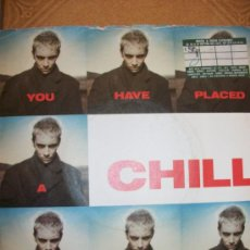 Discos de vinilo: EP EURYTHMICS – YOU HAVE PLACED A CHILL IN MY HEART – RCA 1987. Lote 37255412