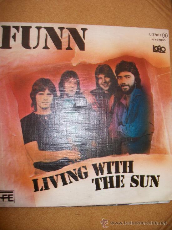 EP FUNN – LIVING WITH THE SUN – SPANISH PRESS (Música - Discos de Vinilo - EPs - Pop - Rock - New Wave Extranjero de los 80)