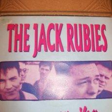 Discos de vinilo: EP THE JACK RUBIES – BE WITH YOU – SPANISH EDIT – SELLO EN CONTRAPORTADA. Lote 37256096