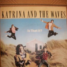 Discos de vinilo: EP KATRINA AND THE WAVES – IS THAT IT? - SPANISH EDIT – 1986 – EMI. Lote 37256199
